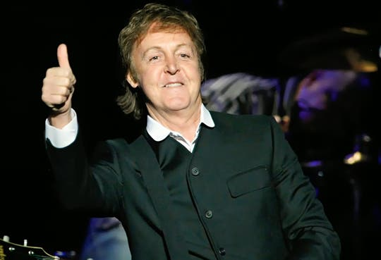 Vendidas 20 mil entradas para recital de Paul McCartney