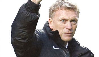 Fugaz paso de Moyes en el United