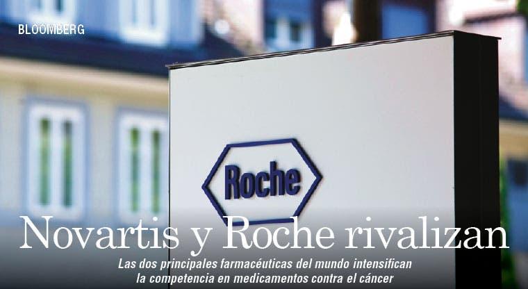 Novartis y Roche rivalizan por avance en cáncer