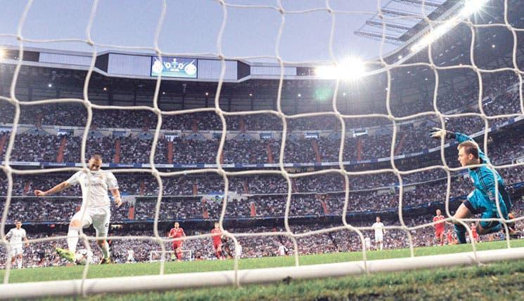 Real Madrid pegó primero