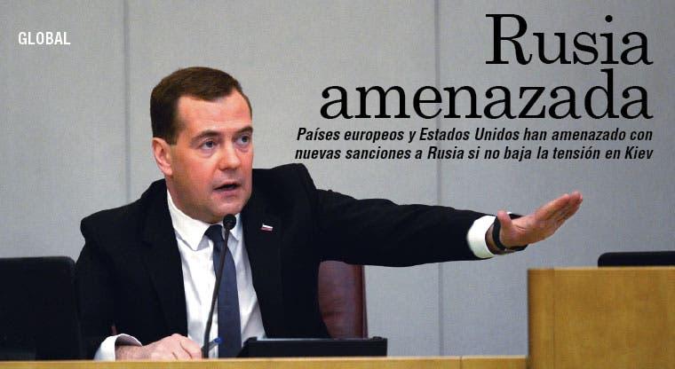 Amenazan a Rusia con nuevas sanciones