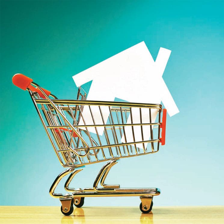 ¿Puede comprar su casa en el mall?