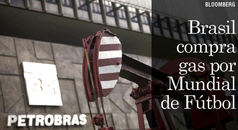 Brasil compra gas por temor de cortes durante Mundial de Fútbol