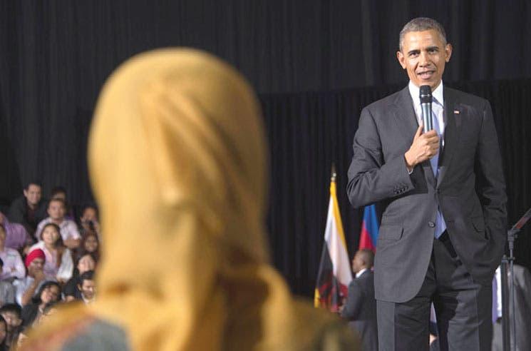 Obama defiende en Malasia giro hacia Asia-Pacífico