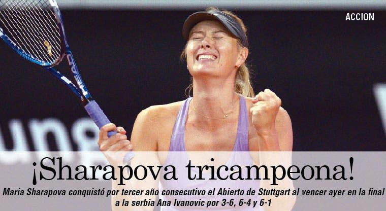 Stuttgart para Sharapova