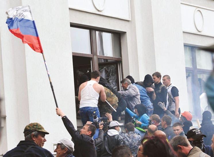 Prorrusos toman sede de regional ucraniana
