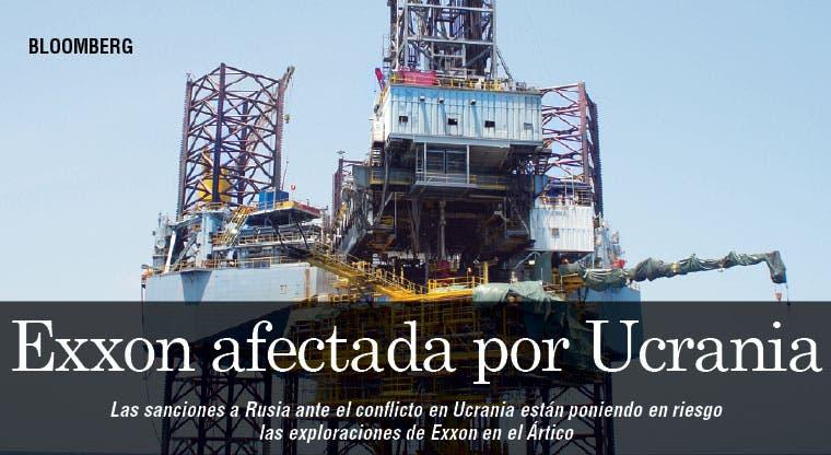 Exploración de Exxon corre peligro por Ucrania