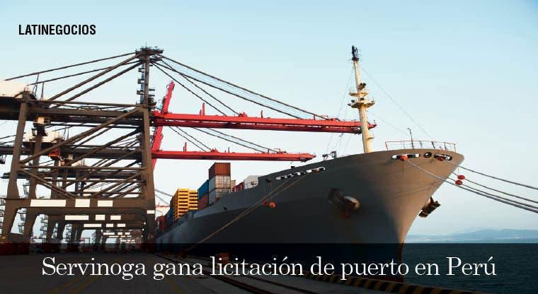 Consorcio integrado Servinoga gana licitación de puerto en Perú
