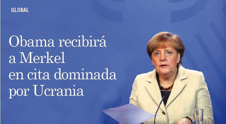 Obama recibirá a Merkel en cita dominada por Ucrania