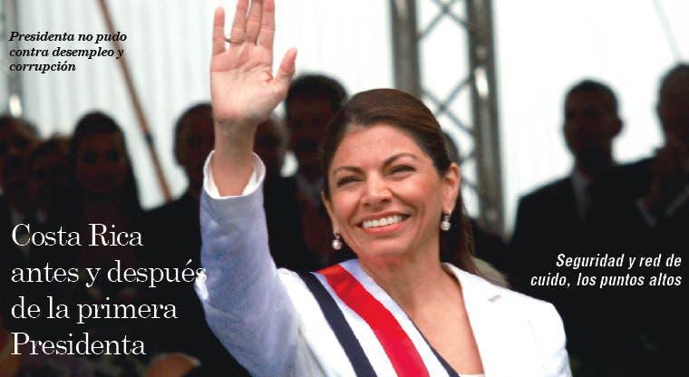 Costa Rica antes y después de la primera Presidenta