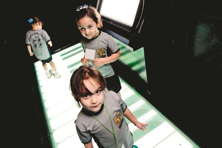 Toque piano en el Museo de los Niños
