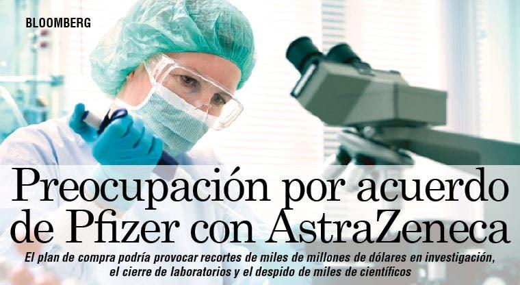 Acuerdo Pfizer-AstraZeneca preocupa a farmacéuticos