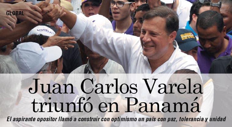 Juan Carlos Varela, nuevo Presidente de Panamá