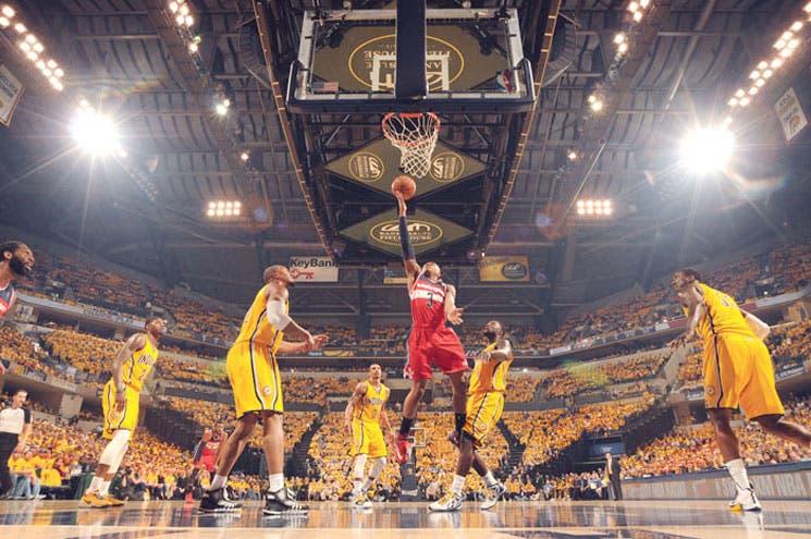 Wizards asaltan Indiana