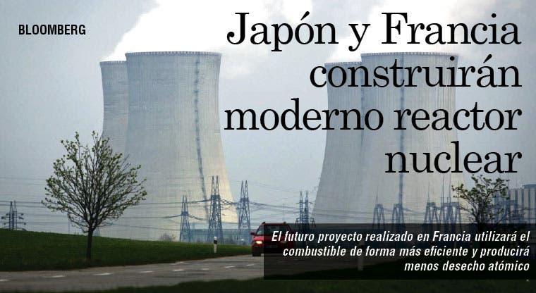 Japón trabajará con Francia en futuro reactor nuclear