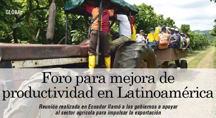 Alerta por productividad en Latinoamérica