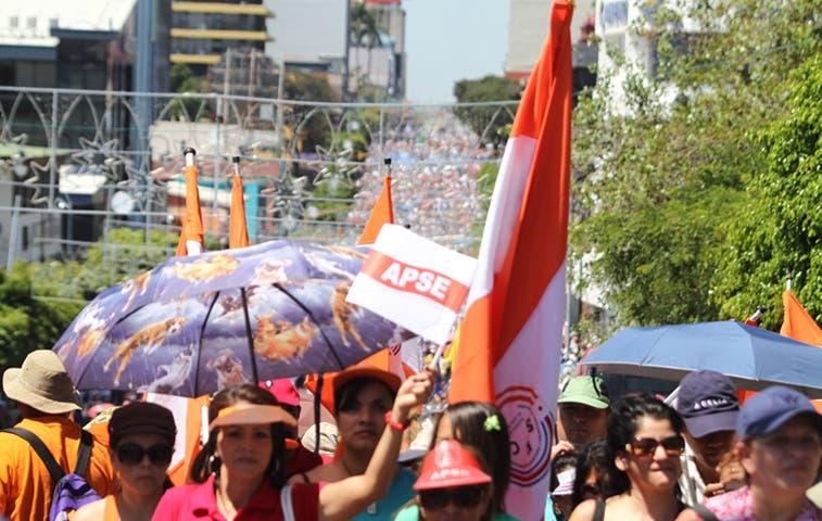 Paseo Colón se mantiene cerrado por huelga