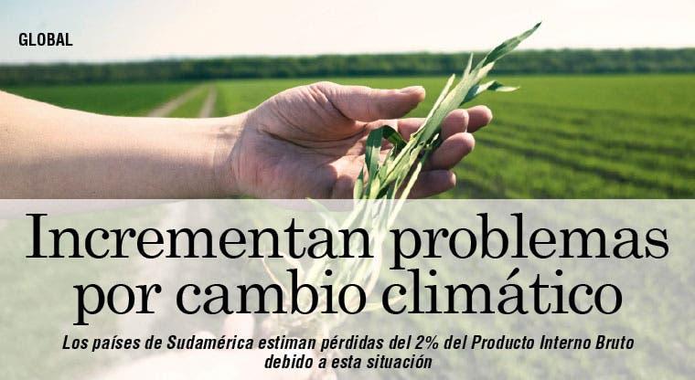 Aumenta impacto del cambio climático en Sudamérica