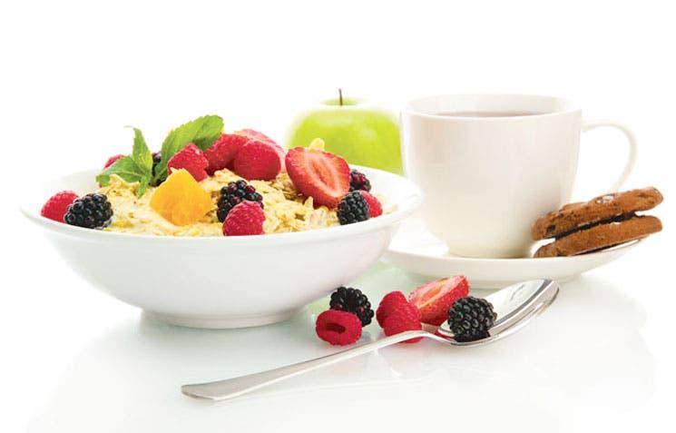 Incorpore frutas y vegetales a su desayuno