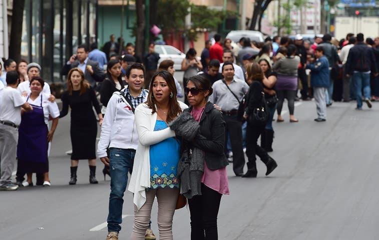Sismo de 6,7 sacudió a México