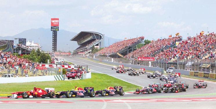La F1 desembarca en Europa