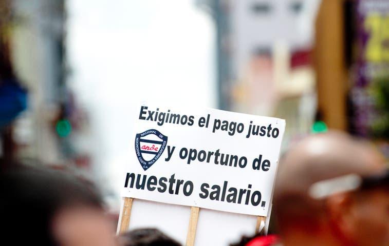 La primera huelga en la historia de Solís