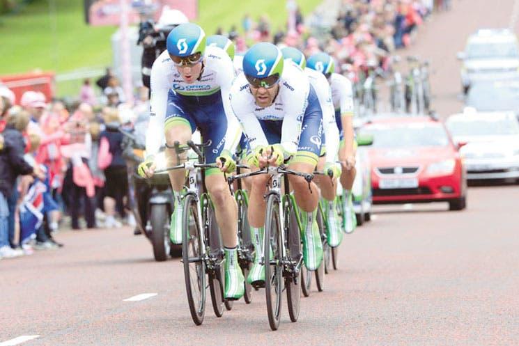 Tuft primer líder del Giro