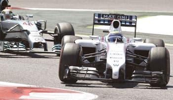 Mercedes marca la pauta