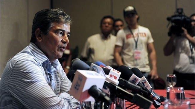 Pinto anunció 30 preseleccionados para Brasil 2014