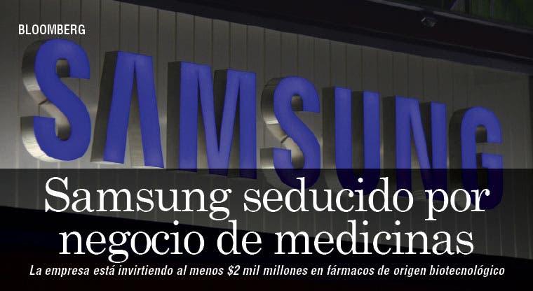 Negocio de medicinas interesa a Samsung