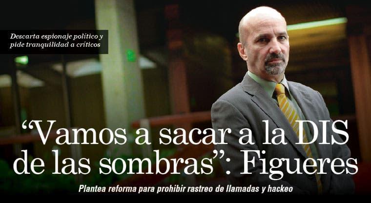 """""""Vamos a sacar a la DIS de las sombras"""": Figueres"""