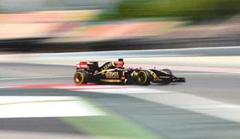 Maldonado, el más rápido en Montmeló
