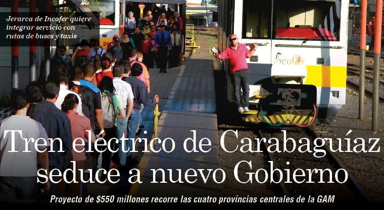 Tren eléctrico de Carabaguíaz seduce a nuevo Gobierno