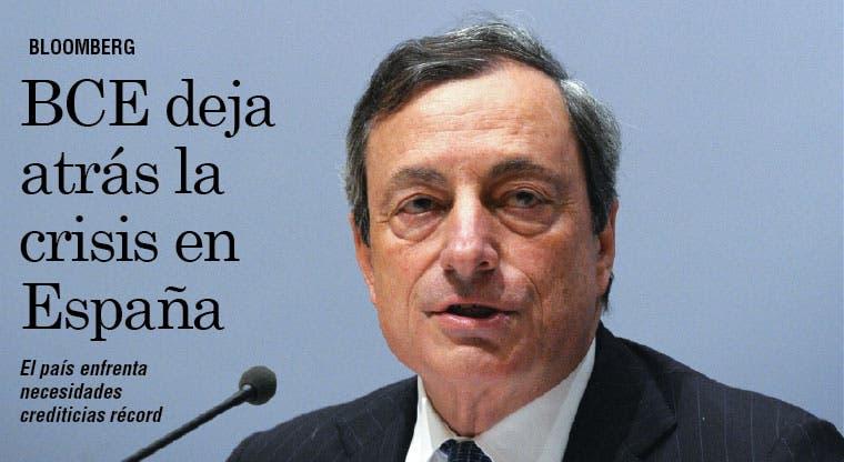 BCE deja atrás la crisis en España