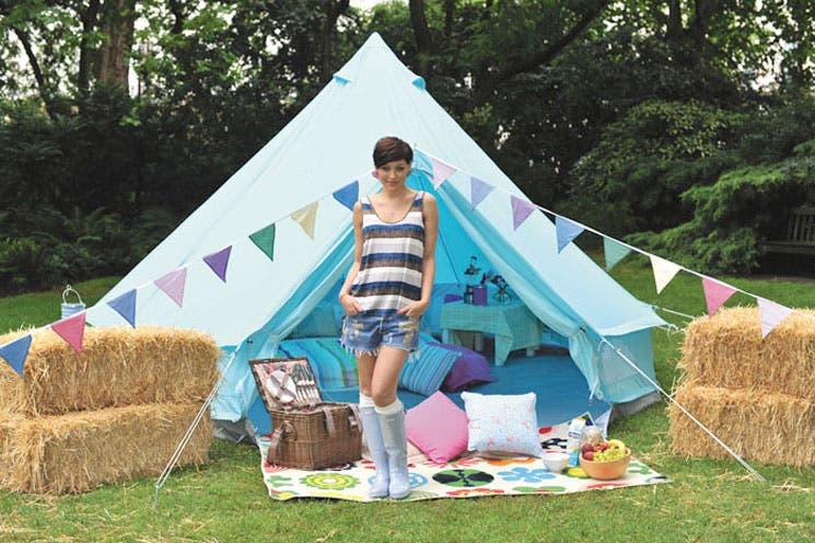 """""""Glamping"""", acampar con estilo"""