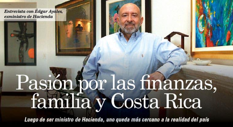 Pasión por las finanzas, familia y Costa Rica