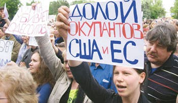 Combates se reanudan en Ucrania