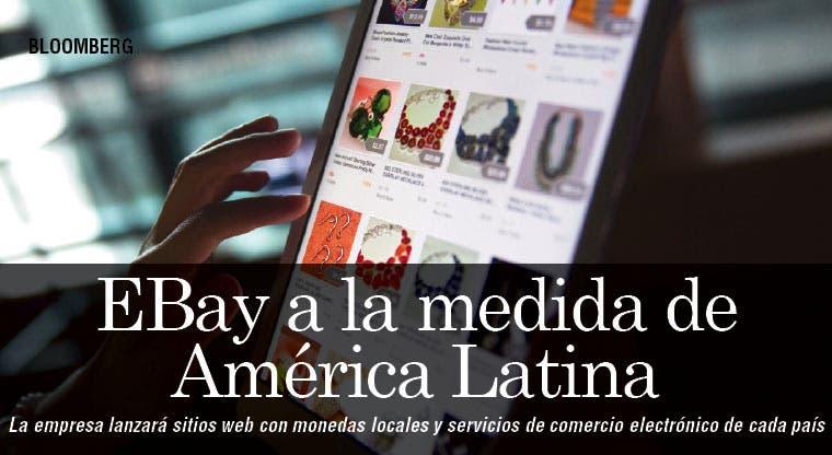 EBay lanza sitios web a la medida de América Latina