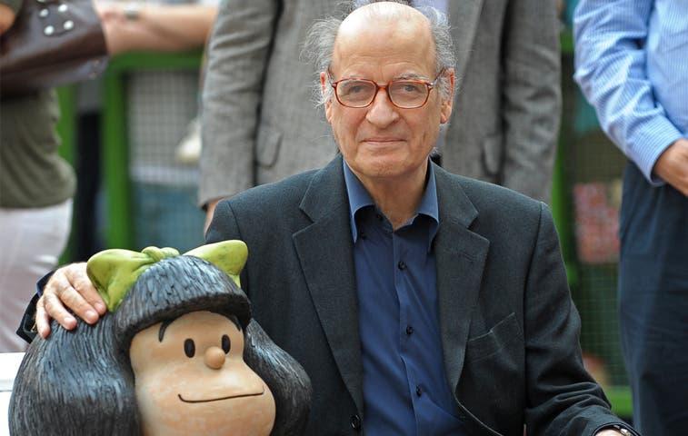 Mafalda convierte a Quino en Príncipe