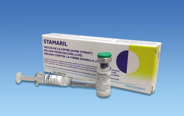 Vacuna contra fiebre amarilla disponible en Fishel