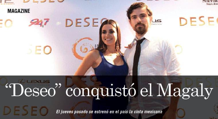 """""""Deseo"""" conquistó el cine Magaly"""