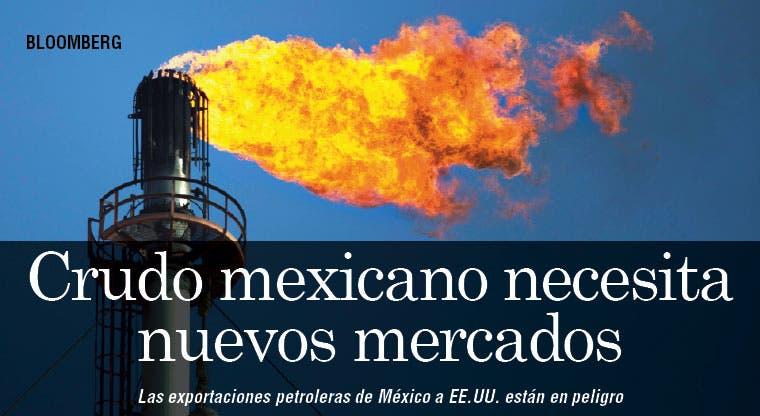 El crudo mexicano necesita nuevos mercados
