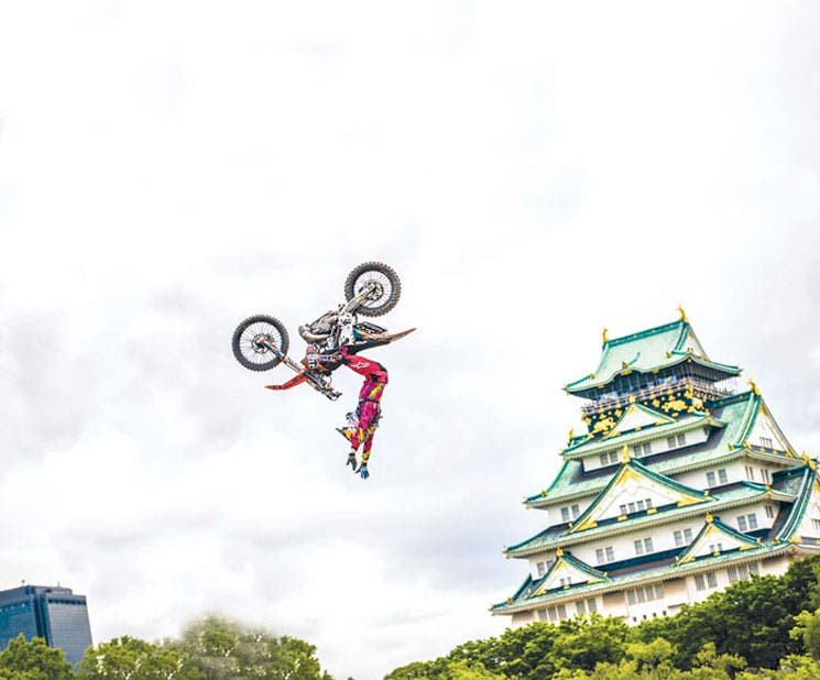 X-Fighters vuela en Osaka