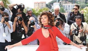 Sophia Loren, la más grande de Cannes