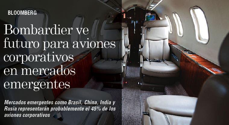 Bombardier ve futuro para aviones corporativos