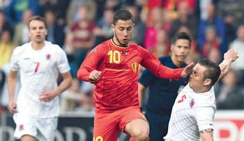 Bélgica afina rumbo al Mundial