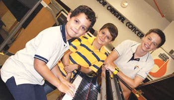 Niños mostrarán su talento musical