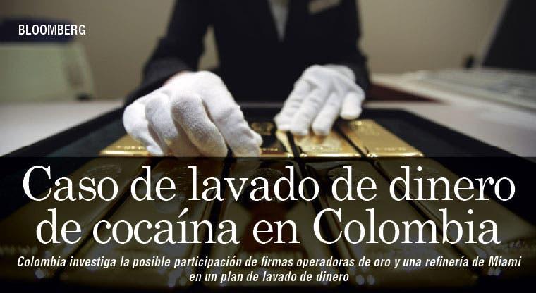 Caso de lavado de dinero de cocaína en Colombia