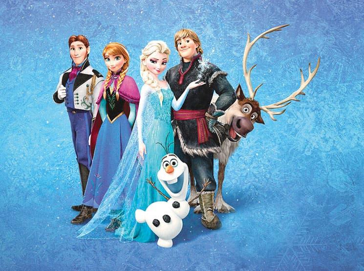 """""""Frozen"""" la quinta cinta de mayor recaudación"""