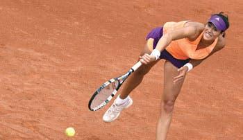 Garbiñe deja boquiabierta a Serena